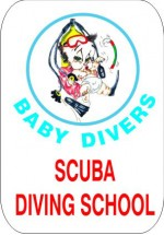 SIMA SCUBA BABY DIVERS